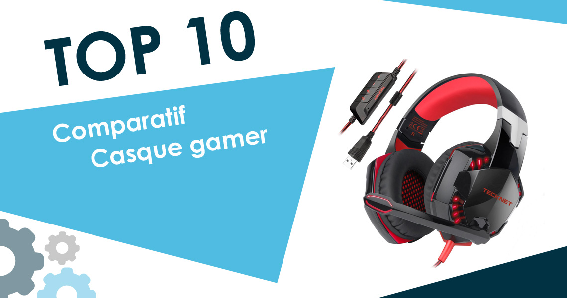 meilleur casque gamer 2018 top 10 et comparatif. Black Bedroom Furniture Sets. Home Design Ideas