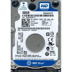 disque dur interne 25 western digital blue 500 go
